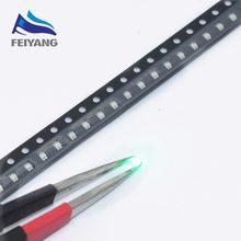 3000PCS SAMIORE ROBÔ 0805 Lâmpada LED SMD super Pura Cor Verde 3.0-3.4V 20MA 520-530NM 2012 Verde diodo emissor de luz