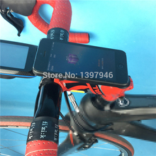 TRIGO mobile phone mount can fit bicycle edge 200 510 810 bike 3M case mount Bicycle Computer Mount better than sram mount