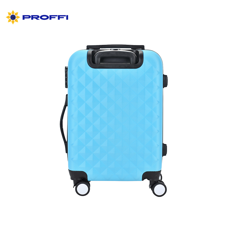 Suitcase PROFFI TRAVEL PH8645blue plastic blue with built-in weights M   on wheels аксессуар чехол для sony xperia z1 krutoff transparent 11545