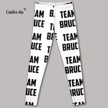 Hot sexy fashion leggins pants digital printing of letter leggings-limited for women drop shipping