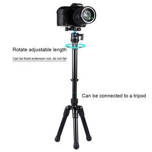 Image 5 - PULUZ Professional Tripode DSLR 3/8 Screw Metal Handheld Adjustable Tripod Mount Monopod Extension Rod for DSLR SLR Cameras