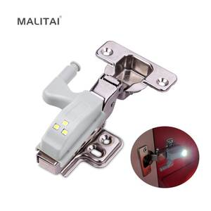 Door-Guide-Bulb Wardrobe Inner-Hinge Led-Night-Light Universal On/off-Lamp Kitchen-Cabinet-Sensor