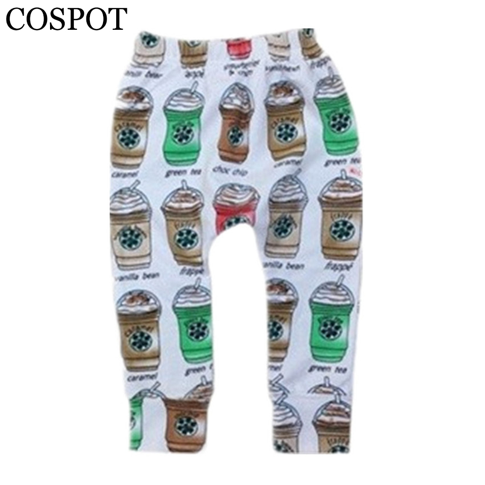 0bfee0609 Wholesale Baby Boys Girls Autumn Leggings Newborn Cotton Harem Pants Girl  Boy Coffee Cup Print Trousers Kids Leggings 30 ~ Premium Deal May 2019