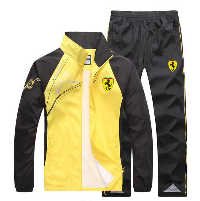 Men Jogging Train TrackSuit Sport Thin Jacket Coat Top Suit Set Trousers Pants Sweats suits in Men 39 s Sets from Men 39 s Clothing
