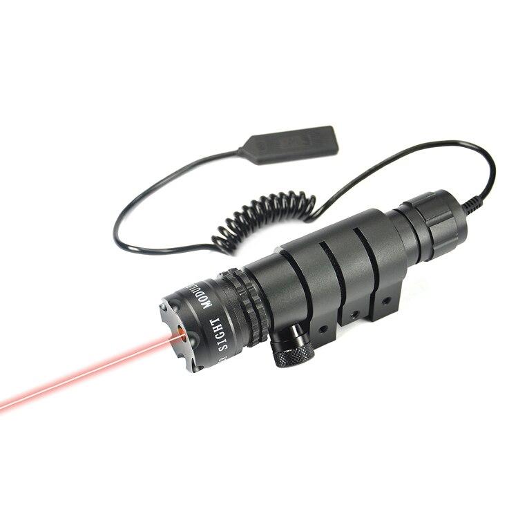 사냥㎚전술 레드 레이저 도트 시력 장난감 총 야간 riflescope 레드 도트 레이저 부드러운 소총 범위 광학