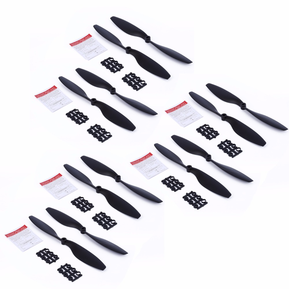 12PCS 1045 Propeller 10in Propeller CW CCW 10X45 for DJI F450 F550 Drone DIY Quadcopter Props Blade Spare Parts for A2212 Motor cheerson cx 22 cx22 rc quadcopter spare parts propeller prop blade ccw