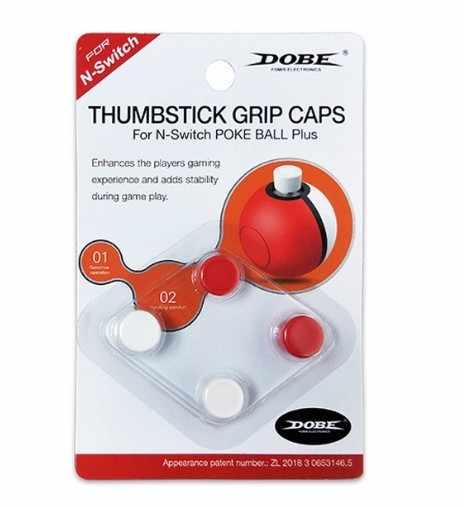 Caso Della Copertura Grips Thumb Stick Joystick Cap Per Nintend Interruttore NS Poke sfera Più Pokeball Controller di Gioco