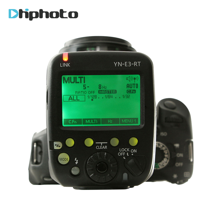 Yongnuo YN-E3-RT TTL Radio Flash Trigger Speedlite Transmitter Controller as ST-E3-RT for Canon 600EX-RT/YONGNUO YN600EX-RT II вспышка для фотокамеры 2xyongnuo yn600ex rt yn e3 rt speedlite canon rt st e3 rt 600ex rt 2xyn600ex rt yn e3 rt