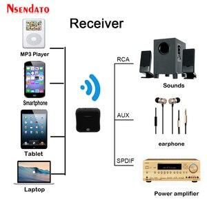 Image 4 - Bluetooth 5.0ワイヤレスオーディオアダプタ2で1ワイヤレス送信機の受信機デジタル光トスリンク/spdifとCSR8675 APTX HD