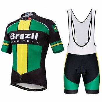 2019 Weimostar бразильский трикотажный комплект для велоспорта мужские велосипедные Джерси велотрусы MTB Нижняя верхняя часть горная дорога велос...