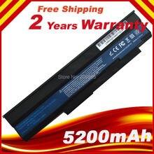 6 แบตเตอรี่แล็ปท็อปสำหรับ Acer Extensa 5235 5635 5635G 5635Z 5635ZG eMachines E528 E728 AS09C31 AS09C71