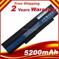 Bateria para laptop  6 pilhas para asus extensa 5235 5635 5635g 5635z 5635zg emachines e528 e728 as09c31 as09c71