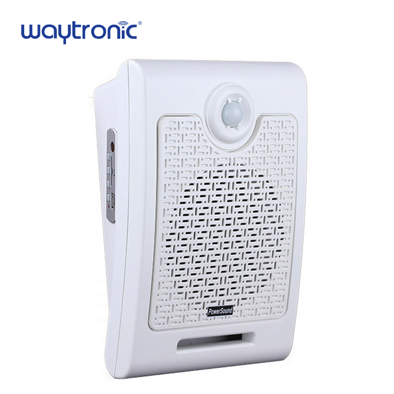 Supermarket Store Advertising Promotion Audio Speaker Voice Broadcast Device Human Body Motion Sensor Activated Sound Player shop store supermarket advertising motion sensor mp3 sound player with 128m sd memory card for sales promotion voice broadcast