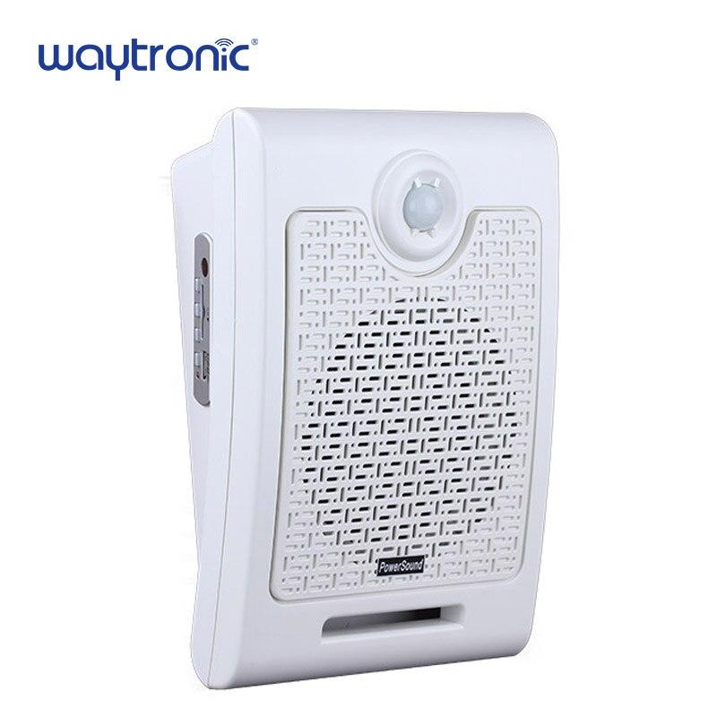 Voz inducción del cuerpo dispositivo indicador 24 V Sensor de movimiento activado alarma altavoz para pública difusión de la voz