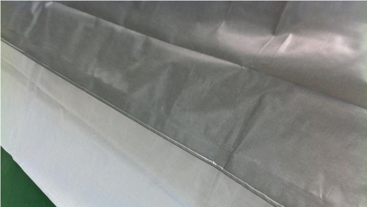 Free shipping silver gray 4mX 3m waterproof canvas, outdoor tarps, truck tarps, sun and rain cloth.