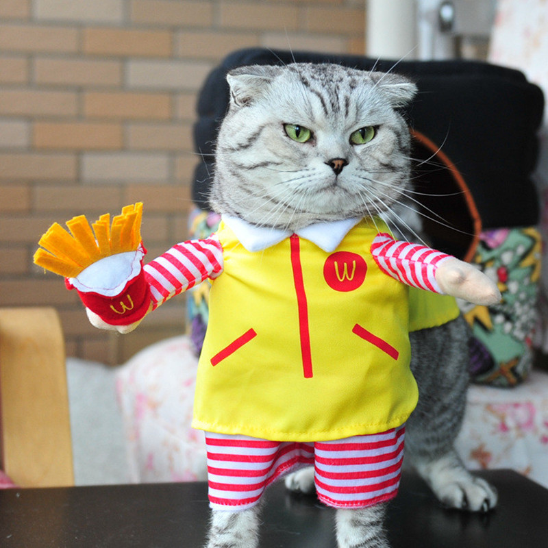 NEW hot sale Cats cosplay outfit small Dogs puppy pet ...