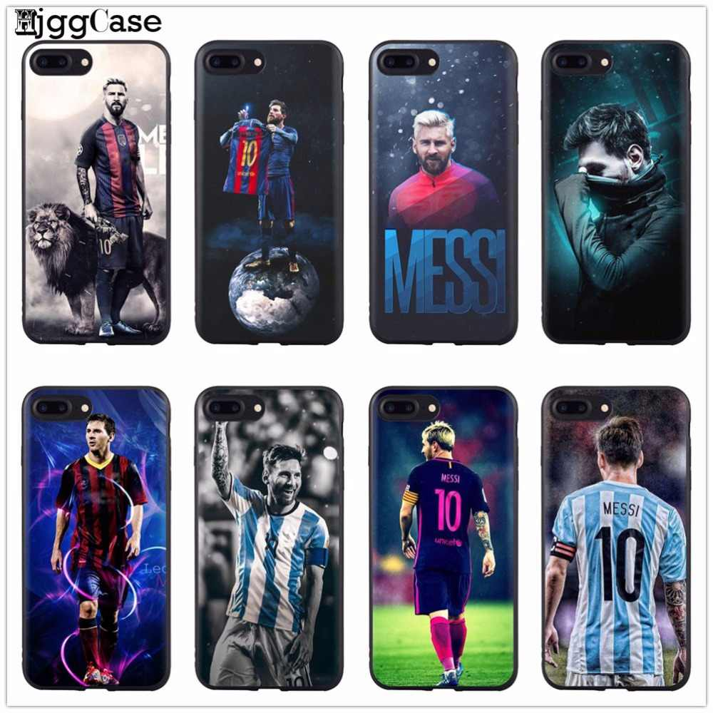 93523c2c3 Lionel Messi Football star sports Soft Silicone Phone Cover Case For iPhone  X 6 6S 6Plus