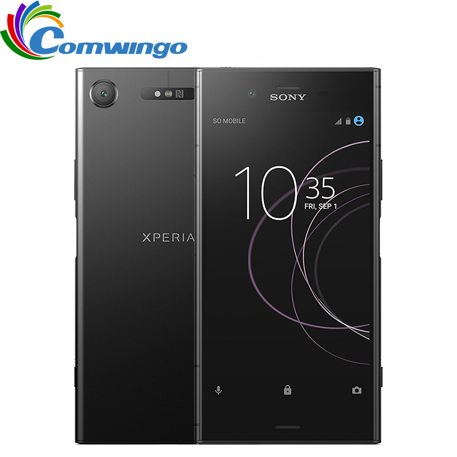 Original Sony Xperia XZ1 G8341 64G ROM 4G RAM 19MP Octa Core NFC 2700mAh Single Sim Android 7.1 Quick Charge 3.0 Phone