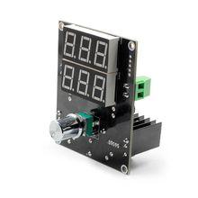 Светодиодный модуль питания с цифровым дисплеем и регулятором напряжения 5-36 в до 1,3-32 В