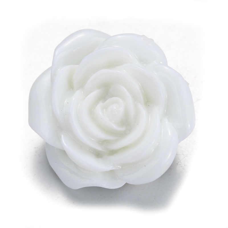 12 צבעים 10 יח'\חבילה DIY אקראי פרח 18MM הצמד כפתורי כפתור עבור מצליפה צמידי fit מצליפה תכשיטים
