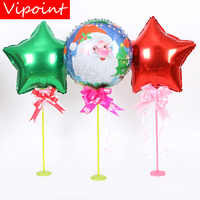 VIPOINT PARTY 18inch snowman star Santa Claus foil balloons wedding event christmas halloween festival birthday party HY-257