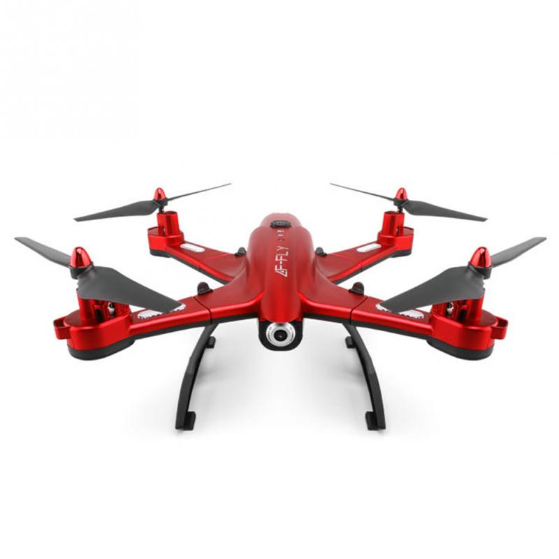 Folding high-definition aerial 4-axis Drone Portable 0.5MP HD Camera WIFI Drone remote control aircraft RC Drone with Camera keyshare landing frame bracket for glint2 remote control aircraft drone