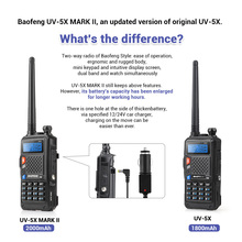Original BAOFENG UV-5X Upgraded Version of UV-5R UV5R  Two-Way Radio Walkie Talkie