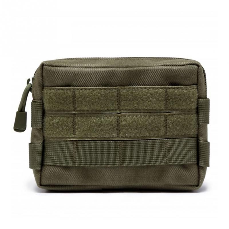 Tactical Military Camouflage Nylon Waist Bag Fanny Pack Outdoor Camping Hiking Phone Keys Holder Molle Pouch Sports Belt Bag