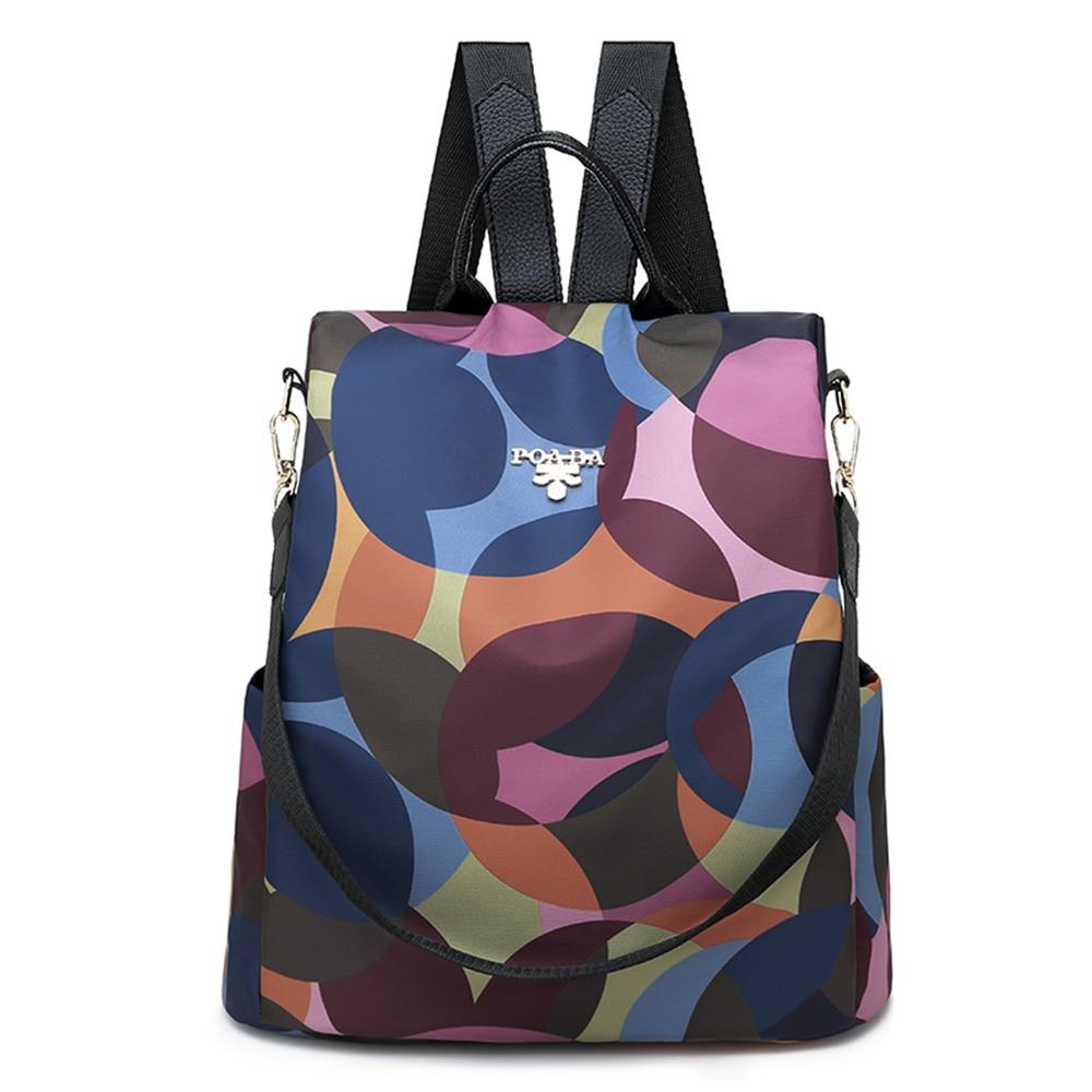 4Styles Anti-theft Women Swimming Backpacks Ladies Large Capacity Swimbag Waterproof Oxford  Backpacks 3