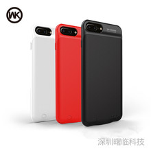 Original WK Wireless 2400mAh Back Clip Battery Charger Case Power Bank For iPhone 6 6s 7 Mobile Phone Holder Function Power Case