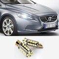 1 шт. Автомобилей T10 w5w 38LED 2835SMD Ширина лампа для Volvo S80L S60L XC90 S60 C70 V60 V50 V40 XC60 S40 S80