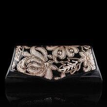 High-End Handmade Pailletten Blume Handtasche für Frauen Vintage Perlen Langen Geldbeutel Weihnachtsfeier Brieftasche Hochzeit Mode Handtasche