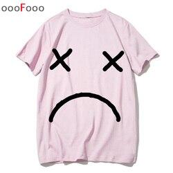 Lil peep t shirt rap raper hip hop Lil Peep. Cry Baby koszulka tshirt top tee shirty męskie śmieszne koszulki z krótkim rękawem tshirt mężczyzn mężczyzna/kobiety drukowane 5