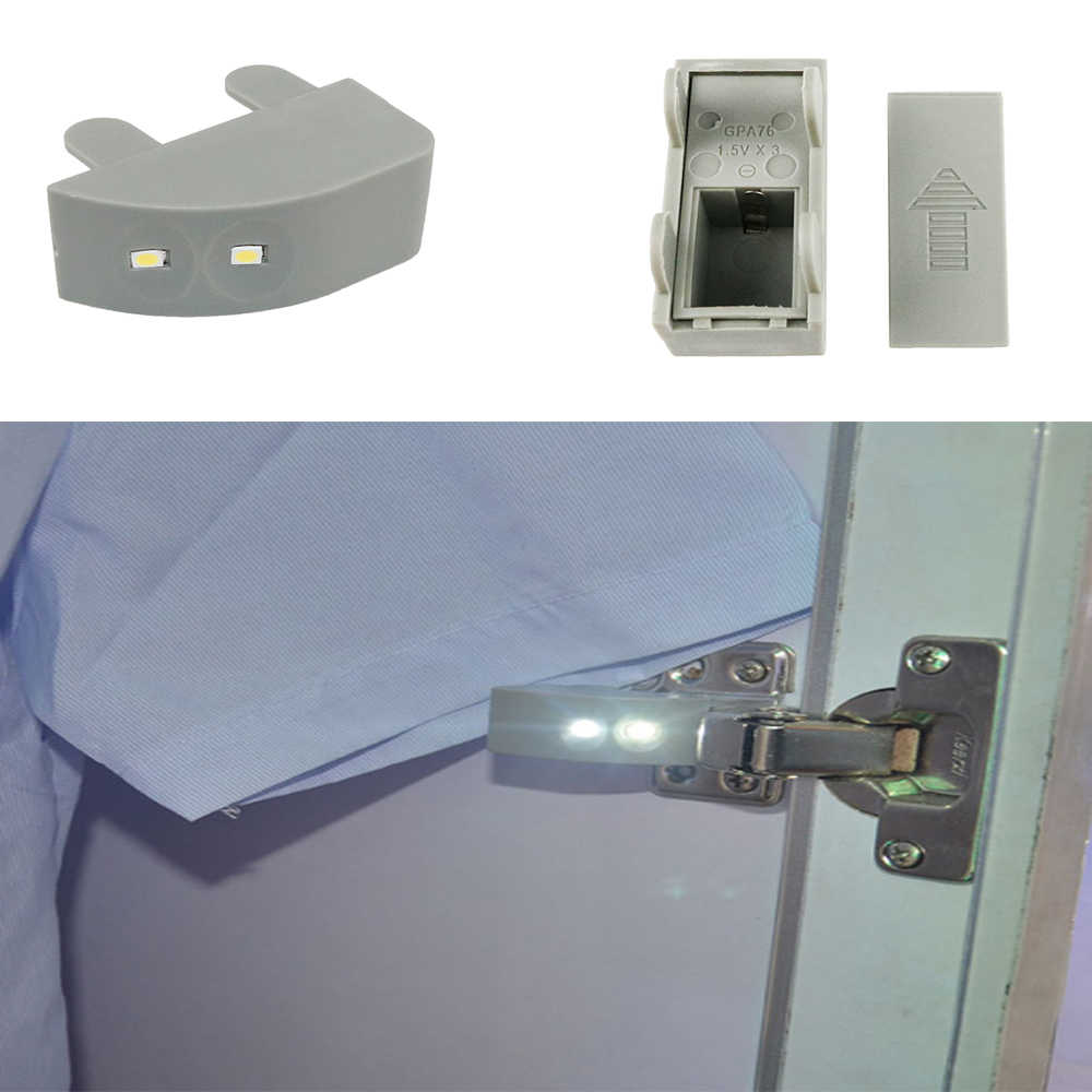 vibration sensor light Universal Kitchen Bedroom Living room  Aquarium LED cabinet hinge LED lamp  switch vibration lights on