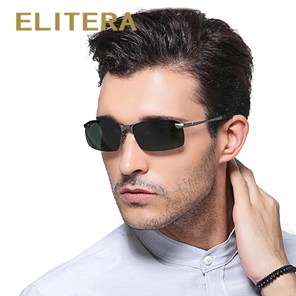 ELITERA Nové značky Polarizované Pánské sluneční brýle Muž jízdy Rybaření Outdoor Eyewears Příslušenství Velkoobchod Oculos de sol E3043