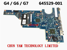 645529-001 FOR HP PAVILION G4 Laptop Motherboard G4-1000 DA0R24MB6F0 REV:F E-350 Mainboard 90Days Warranty 100% tested