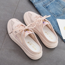 Summer Women Shoes Mesh Solid Flats Fashion Sneakers Platform Lace-up Breathable Luxury Ladies Shoes Slip on Shoes for Women luxury 2019 flats shoes woman flat platform women casual shoes fashion sneakers lace up slip on breathable brand ladies shoes