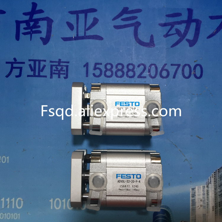 ADVUL-32-20-P-A FESTO Thin type cylinder air cylinder pneumatic component air tools cxsm10 10 cxsm10 20 cxsm10 25 smc dual rod cylinder basic type pneumatic component air tools cxsm series lots of stock