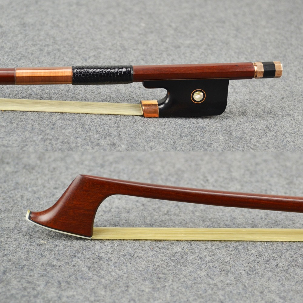 Master Pernambuco CELLO BOW Tourte Model Ebony Frog 10K GOLD Mounted Natural Horsehair Straight Strong Violin Parts Accessories 880v 4 4 full size master pernambuco violin bow ebony frog with 100% silver natural horsehair straight violin parts accessories