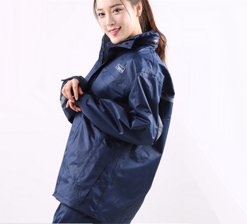 Raincoat Women Motorcycle All Purpose Rain Suit Rain coat Rainwear Hiking Rain Jacket for girl women  benkia motorcycle rain jacket moto riding two piece raincoat suit motorcycle raincoat rain pants suit riding pantalon moto