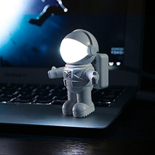 Hot Sale Brand New Creative Spaceman Astronaut LED Flexible USB Light for Laptop PC Notebook USB