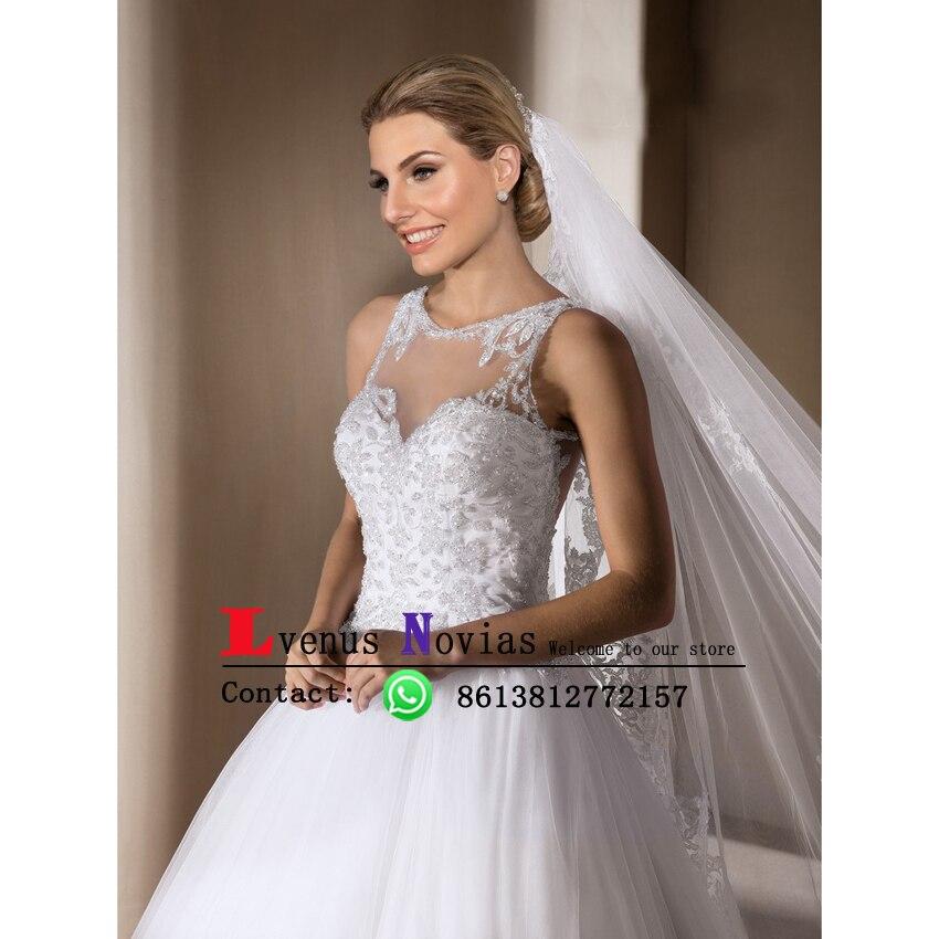 vestido de noiva Brazil Retail Stores Bridal Gowns Luxury Beaded ...