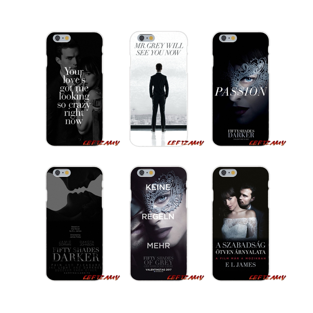 Mobile Phone Shell Cover For iPhone X XR XS MAX 4 4S 5 5S 5C SE 6 6S 7 8 Plus ipod touch 5 6 fashion <font><b>50</b></font> Fifty <font><b>Shades</b></font> <font><b>Of</b></font> <font><b>Grey</b></font> <font><b>Sex</b></font> image