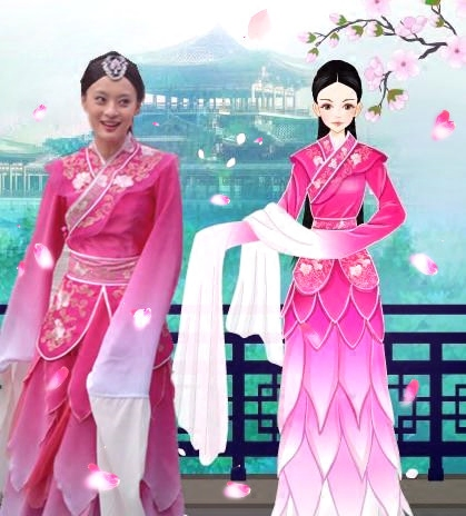 chinese folk dance costume for woman ancient dress sleeve woman traditional opera costumes national dance hanfu chinese clothing