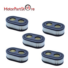 5 pcs Air Filter Cleaner for Briggs & Stratton 798452 593260 Stens 102-851 Oregon 30-168 Rotary 14364 Lawn Mower 09P702 D20(China)
