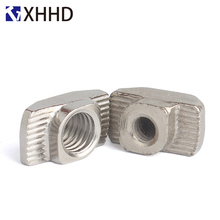 M3 M4 M5 M6 M8 Metric Thread Connector Profile Slot T Nut Sliding Hammer Drop In Nut Aluminum Extrusions Fasteners 20 30 40 45 prusa i3 mk3 bear upgrade 2040 v slot aluminum extrusions mk2 bear aluminum extrusions kit
