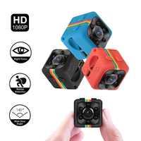 SQ11 Mini Camera 480P 1080P Espia Oculta Secret Gizil Kamera Micro Night Vision Camcorder Small Video Cam Support Hidden TF Card