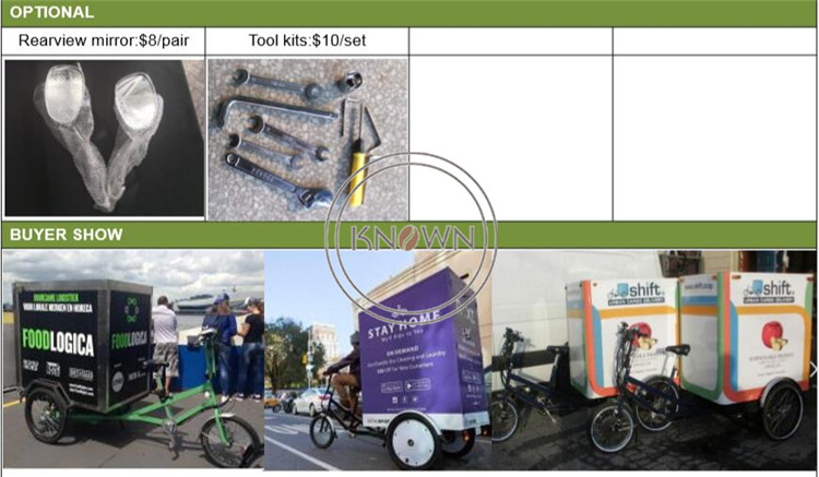 Cheapest Pedal version bicycle bike cargo tricycle bike cart
