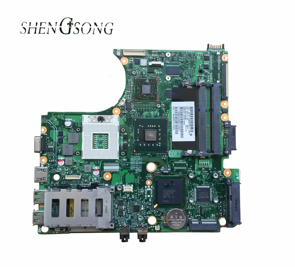 583077-001 for hp probook 4510S 4710S 4411S Notebook Laptop motherboard PM45 DDR3 ATI graphics 100% full tested OK nokotion 646176 001 laptop motherboard for hp cq43 intel hm55 ati hd 6370 ddr3 mainboard full tested