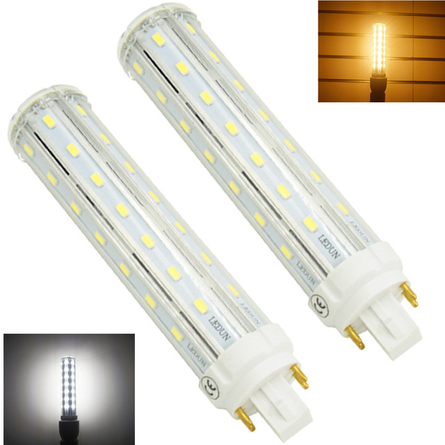 12w Led Gx24q 4 Pin Base Corn Light Bulb 26w Cfl Compact